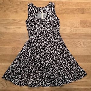 DVF Leopard Print Dress Size 10